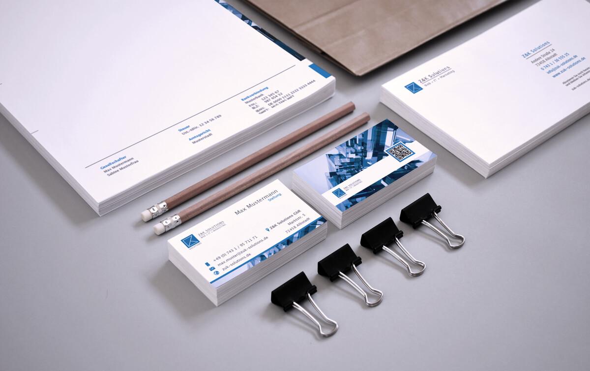 Geschäftsausstattung Print