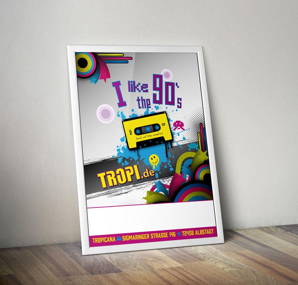 90s im Tropi - Portfolio Item