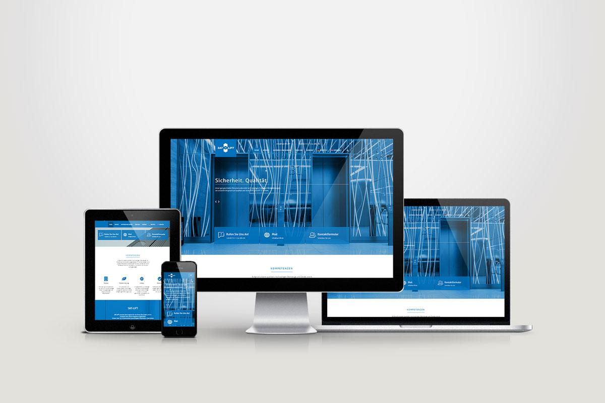Portfolio Sat-Lift Webdesign