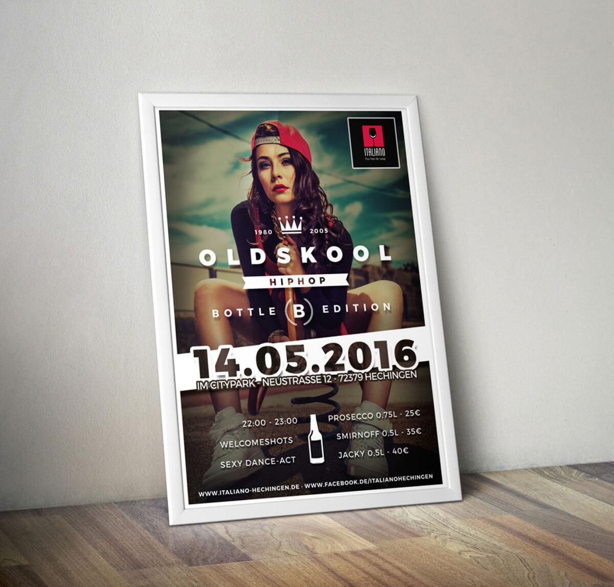 Oldskool HipHop im Italiano - Portfolio Herr Knobel