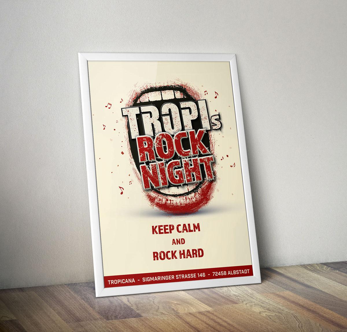 RockNight im Tropi - Portfolio Item