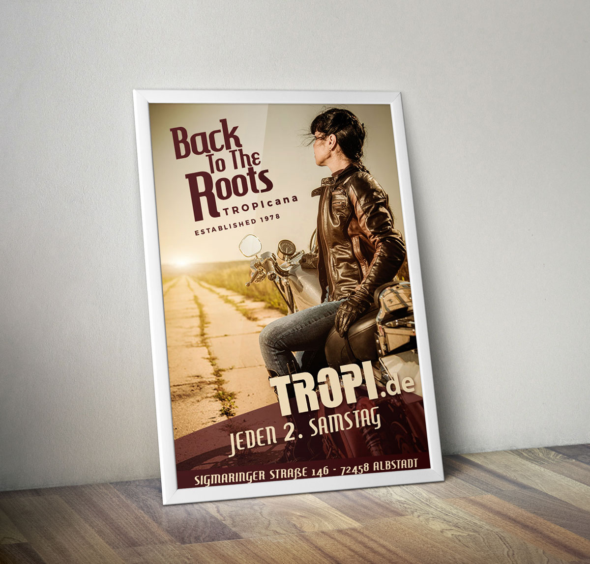 Back to the Roots im Tropi - Portfolio Item